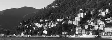 Lake Como Photo Panorama