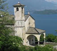 Dongo San Eufemio Church Lake Como Italy