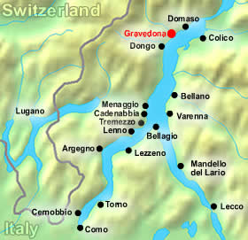 lake como map gravedona