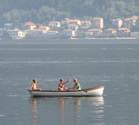 Lake Como Row Boating