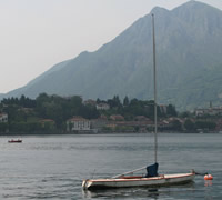 Lake Como Sailboat