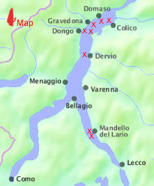 Lake Como Windsurfing Map