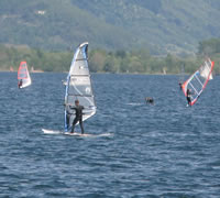 Lake Como Windsurfing