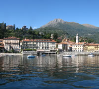 Menaggio Italy Panorama of Lake Como